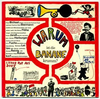 Warum ist die Banane krumm ? LP front cover