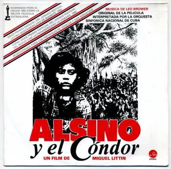 Leo Brouwer - Alsino y el Cóndor LP front cover