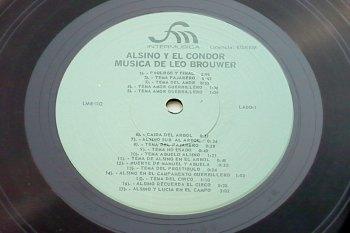 Leo Brouwer - Alsino y el Cóndor LP lado 1