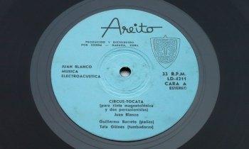 Juan Blanco - Música Electroacústica LP cara A