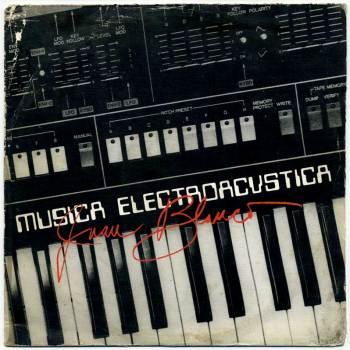 Juan Blanco - Música Electroacústica LP front cover
