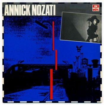 Annick Nozati - s/t debut LP front cover
