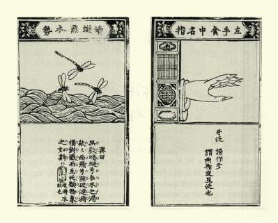 Hand Gesture Illustration #31 from the Taiyin Daqaunji