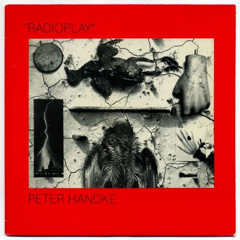 Peter Handke - Radioplay LP front cover