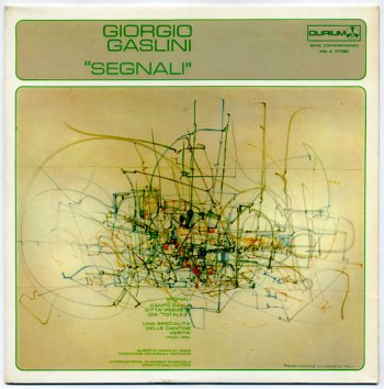 Giorgio Gaslini - Segnali LP front cover