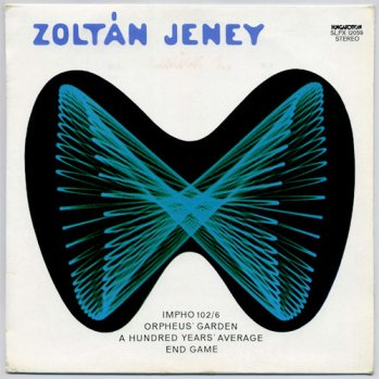 Zoltán Jeney s/t LP front cover