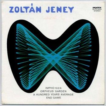 Zoltán Jeney s/t LP front cover