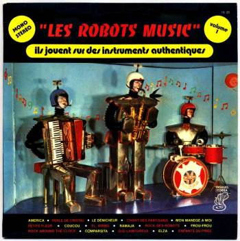 Les Robots-Music - vol.1 LP front cover