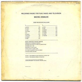 16 Nouvelles d'Ailleurs LP back cover