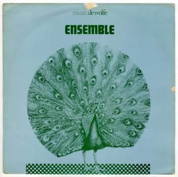 Johnny Hawksworth & James Saunders – Ensemble LP front cover