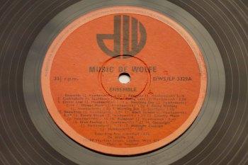 Johnny Hawksworth & James Saunders – Ensemble LP side A