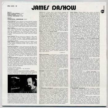 James Dashow – Computer Music LP back cover