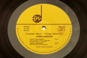 James Dashow – Computer Music LP lato A