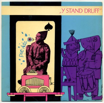 Y Stand Druff LP front cover