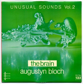 Augustyn Bloch – Unusual Sounds vol. 2 LP front cover