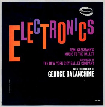 Remi Gassmann & Oskar Sala – Electronics LP front cover