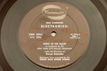 Remi Gassmann & Oskar Sala – Electronics LP side 1