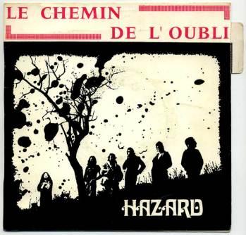 Le Chemin de l'oubli, front cover