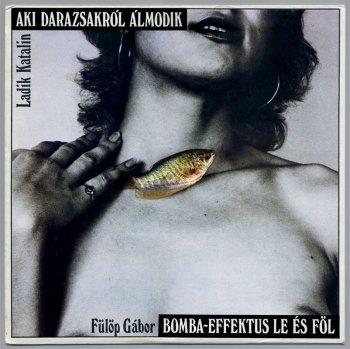 Katalin Ladik & Gábor Fülöp [2 radio plays] LP front cover