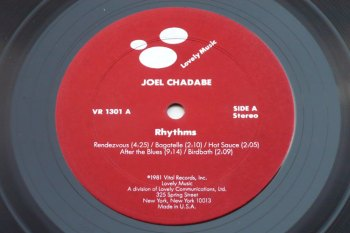 Joel Chadabe – Rhythms LP side A