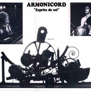 Armonicord – Esprits de sel LP cover centerfold
