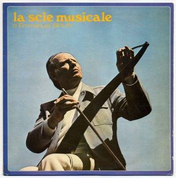 Emmanuel Brun – La Scie Musicale LP front cover