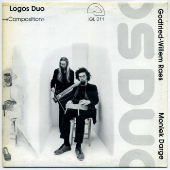 Logos Duo – Composition & Improvisation LP front cover