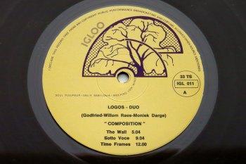 Logos Duo – Composition & Improvisation LP side A