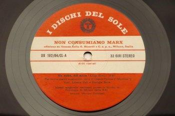Luigi Nono – Non Consumiamo Marx LP side A