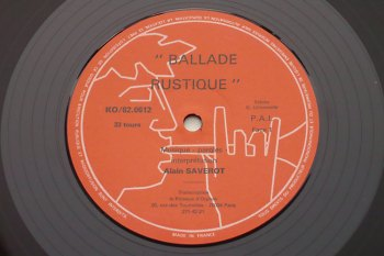 Alain Saverot – Ballade Rustique LP side 1