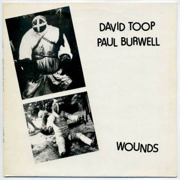 David Toop & Paul Burwell - Wounds LP front cover