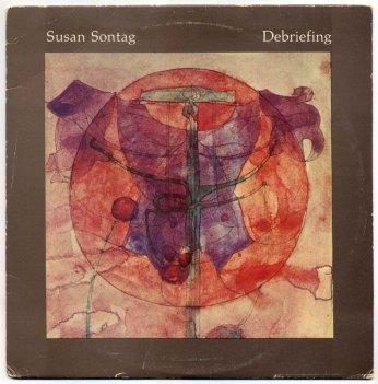 Susan Sontag – Debriefing LP front cover