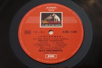 B. Parmegiani & JM Mestres Quadreny – Espaces-Sonores No.1 LP side A