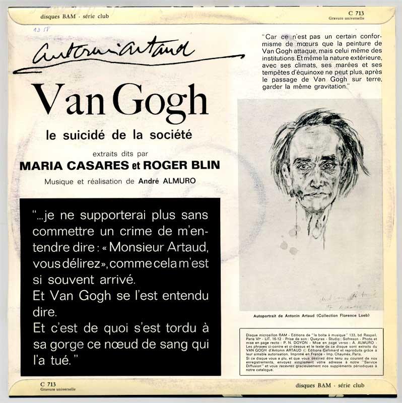 van gogh ou le suicide de la socit