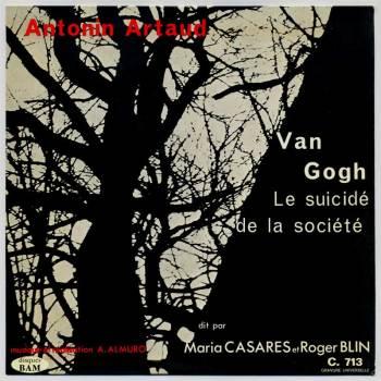 Van Gogh, Le Suicidé de la Société LP front cover