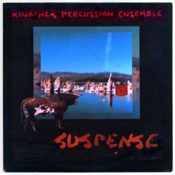Kinothek Percussion Ensemble – Suspense front cover