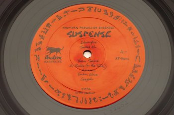 Kinothek Percussion Ensemble – Suspense LP side A