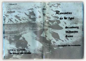 Rencontres du 1er Type cassette cover
