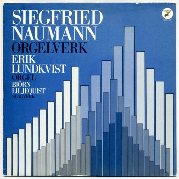 Siegfried Naumann - Orgelwerk LP front cover