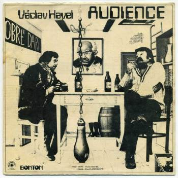 Václav Havel – Audience LP front cover