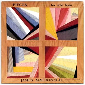 James MacDonald - Pieces for Solo Horn LP front cover