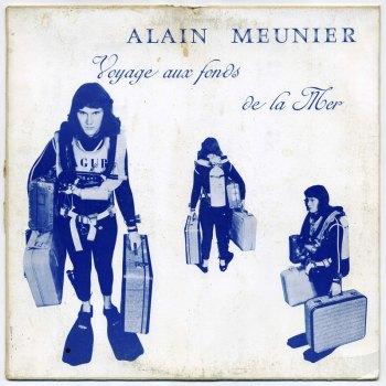 Alain Meunier – Voyage aux fonds de la mer LP front cover