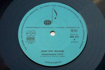 Josef Otto Mundigl - Elektronische Musik LP side 1