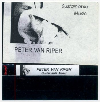 Peter Van Riper – Sustainable Music cassette front cover