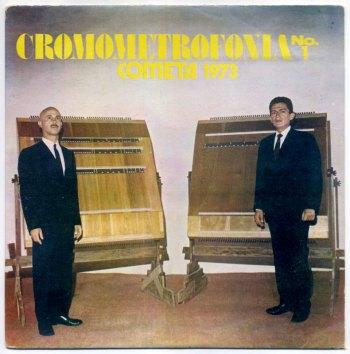 Oscar Vargas y David Espejo – Cromometrofonia LP front cover
