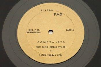 Oscar Vargas y David Espejo – Cromometrofonia LP lado A