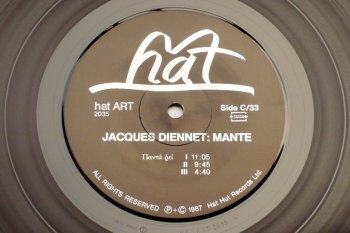 Jacques Diennet - Mante 2xLP side C