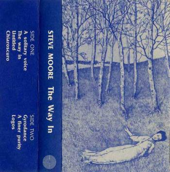 Steve Moore - The Way In cassette cover