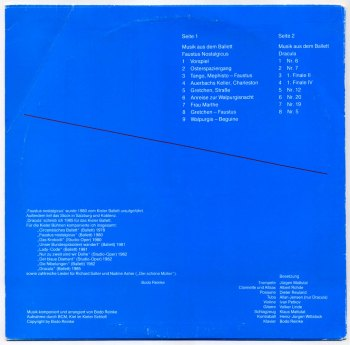Bodo Reinke - Faustus Nostalgicus & Dracula LP back cover
