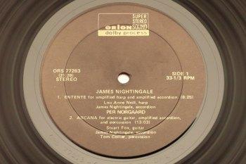 James Nightingale - Pandorasbox LP side 1